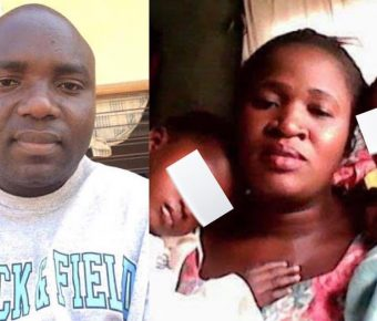 Husband Who Strangled His 8-Month Pregnant Wife In Jos Pictured
