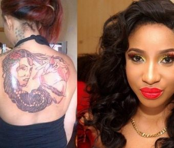 """""""I'm Working On Cleaning All My Body Tattoos"""" – Born Again Actress, Tonto Dikeh"""